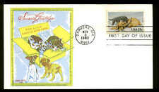 2025 KITTENS & PUPPIES FDC DANVERS, MA  DORIS GOLD CACHET ON A CARD