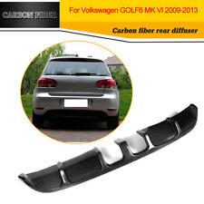Kohlefaser Hecklippe Diffusor Fit für VW Golf 6 VI Nicht-GTI Nicht-R 2009-2013