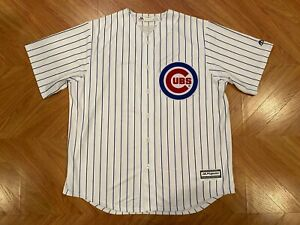 New Majestic Coolbase Chicago Cubs Anthony Rizzo 44 Stitched Jersey Men's XL