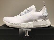 Adidas NMD R1 PK JAPAN PACK ~ Triplo Bianco ~ BZ0221 ~ UK 11
