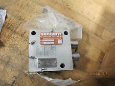 Sargent Safety Relief  Valve Assembly 20139-002 / 4820-01-316-0425