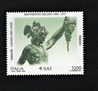 francobollo repubblica italiana 2000 Benvenuto Cellini mnh nuovo