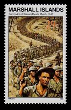 MARSHALL ISLANDS.  SCOTT# 305  MNH  WORLD WAR II TOPICAL, SURRENDER OF BATAAN