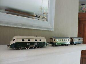 locomotive jep diesel et 2 wagons