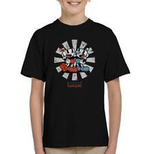 Cuphead Retro Japanese Kid's T-Shirt