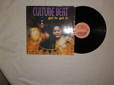 "Culture Beat – Got To Get It - Disco Mix 12""  Vinile 1993 Euro House"