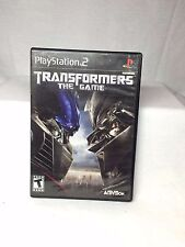 Transformers The Game Black Label PS2 Sony Playstation 2 Complete Tested & Works