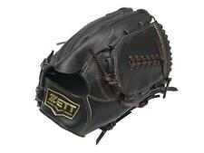ZETT Pro Model 11.5 inch Black Baseball Pitcher Glove