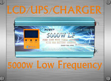 AU Stock~5000W LF Pure Sine Wave 12VDC/240VAC 50Hz PowerInverter LCD/UPS/Charger