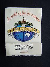 DREAMWORLD PARKWAY COOMERA QUEENSLAND 075 531133 MATCHBOOK