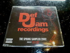 DEF JAM RECORDINGS - THE SPRING SAMPLER 2002 MIXED BY SEMTEX (PROMO CD ALBUM)