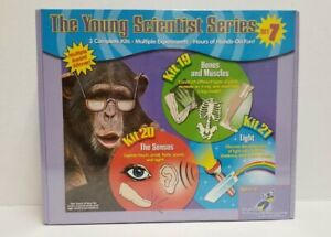 The Young Scientist Series Set 7 (Kit 19, 20, 21) Science Experiments for Kids
