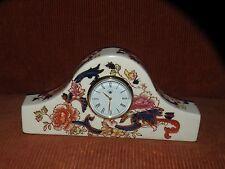 MASON'S MANDALAY PORCELAIN CLOCK ENGLISH