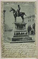 CARTOLINA MONUMENTO DI GIUSEPPE GARIBALDI BOLOGNA f/p VIAGGIATA 1901 #19025