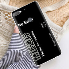 Soft TPU Silicone Case For HTC Desire 12+ Plus Phone Back Covers Skins Words