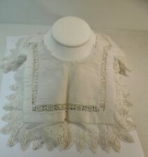 Superbe grand col ancien en broderie anglaise…
