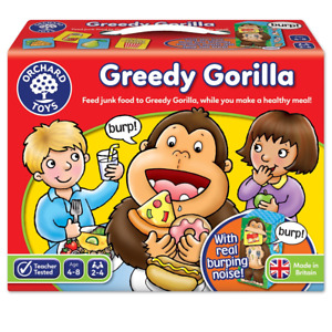 Orchard Toys Greedy Gorilla Healthy Eating Game, Educational Memory Game, 4-8...