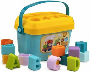 Educational Activity Toys First's Block Shape,Sorter,Colors,Baby & Toddler, ABCD