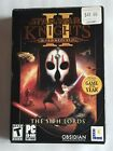 Cib Star Wars Knights Of The Old Republic Ii Sith Lords Pc Computer Game 2004