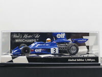 Minichamps Tyrrell 007 1974 Swedish GP Winner Scheckter MIB 1:43 Limited
