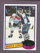 1980-81 Topps Hockey John Anderson #79 Toronto Maple Leafs NM/MT
