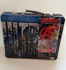 Stationary Art Set Marvels Avengers Age Of Ultron Deluxe Tatoo Crayon Kit