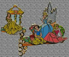 DISNEY Pin DLP Princesses Parade Float - Belle Aurora Cinderella & Snow