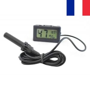 Thermomètre Hygromètre Numérique avec Sonde Intérieur Extérieur Humidité
