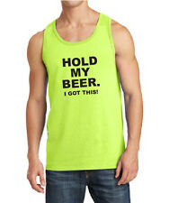 HOLD MY BEER I GOT THIS Tank Tops funny memes guys drinking fail awesome beach