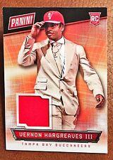 2016 Panini National Vernon Hargreaves III RC Rookie Hat Relic Bucs RARE!!
