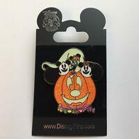 HKDL - Halloween 2008 - Pumpkin Mickey Mouse - Glows Disney Pin 65012