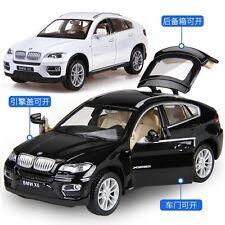 Classic 1:32 BMW X6 Sound Light Car Model Toy X1PC Birthday Gift