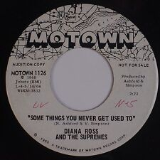 DIANA ROSS & THE SUPREMES: Some Things you never MOTOWN DJ PROMO 45