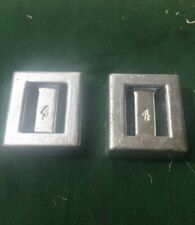 Two 4 lb Lead SCUBA or Snorkeling Dive Weights