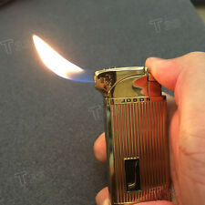 Jobon Metal Jet Double Flame Cigar Cigarette Smoking Pipe Butane Gas Lighter