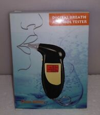 RoHs Keychain Digital Breath Alcohol Tester with audible alert Key chain G-24