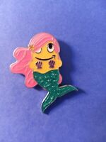 Amazon Employee Peccy Pin - Mermaid with glitter fluke.