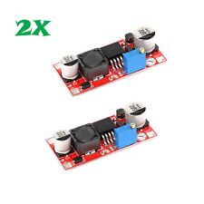 2pcs DC-DC 5V-48V Adjustable Step-up Boost Power Converter Module XL6009 US