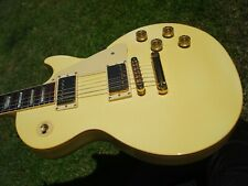 1990 Gibson Les Paul Standard Alpine White Gold Hardware 8.9 lbs
