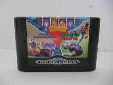 ☺ Jeux Sega Mega Drive Mega Games l Super Hang-on World Cup Italia '90