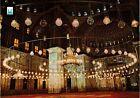 CPM EGYPTE Cairo-L'Interieur de la Mosquée du Citadel (343895)