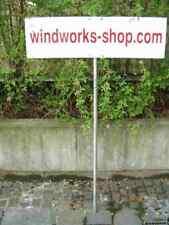 Werbeschild Hinweisschild Schild Werbeträger Kunststoffschild weiss Rechteckig