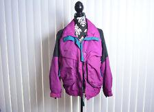 Columbia VINTAGE Powder Keg Purple Green Ski Snow Winter Jacket