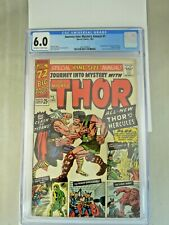 Journey Into Mystery Annual #1 CGC 6.0 1st Appearance of Hercules and Zeus 1965