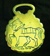 Delicate Lovely Intaglio Harness Horse in solid Horse Harness Brass from England