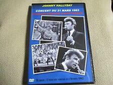 "DVD PROMO ""JOHNNY HALLYDAY - CONCERT DU 31 MARS 1963 A AMSTERDAM"""