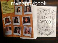 SIGNED The Hazel Wood A Novel by Melissa Albert, autographed, new