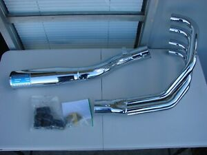 with Classic Straight Muffler and Stainless Steel 4-1 Headers 1980-1983 Delkevic Aftermarket Complete System compatible with Suzuki GS1100E /& GS750