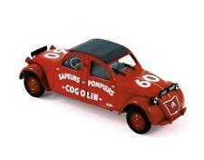 Norev 1:43 Citroen 2CV Cogolin 1961 - Pompiers - NV150091 Cracked Case