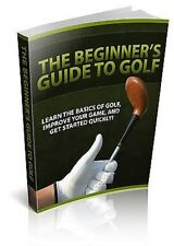 Creating a Consistent Golf Swing plus FOUR other Golf eBooks on 1 CD - FREE P&P